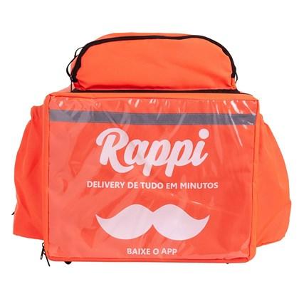 Bag Mochila Térmica RAPPI +  Caixa de Isopor