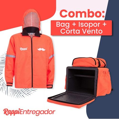 Combo 3: Bag + Isopor + Corta Vento