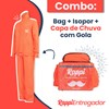 Combo 5: Bag + Isopor + Capa de Chuva com Gola