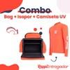 Combo 7: Bag + Isopor + Camiseta UV