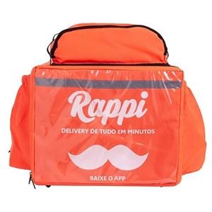 Mochila Térmica Bag RAPPI (Sem Isopor)